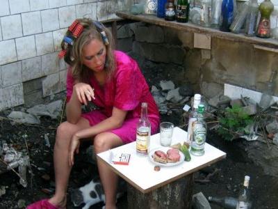 Женский алкоголизм. Маша